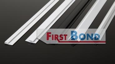 aluminium verbundplatten alu verbundplatten kaufen im onlineshop von firstbond h profil weiss. Black Bedroom Furniture Sets. Home Design Ideas